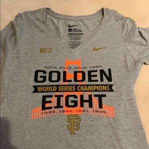 Giants World Series t-shirt